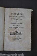 Morri Faenza Economo Istruito Fabbriche Ferro Manifatture Vetrate Legno 1818