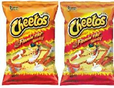 Cheetos Flamin Hot Crunchy 2 Big Bag Pack