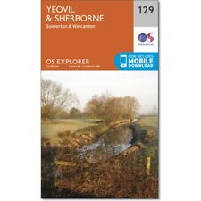 OS Explorer Map 129: Yeovil and Sherbourne