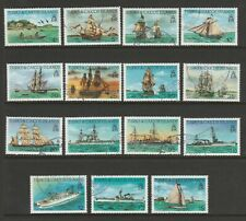 Turks & Caicos 1983 Ships Complete set SG 769-783 Fine used.
