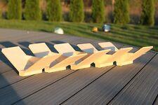 Sitzbrettchen, Taubensitz, Dreiecksitze 15 Pack  Holz 15 Stück