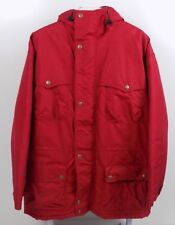 Woolrich Mens Artic Insulated Red Parka Coat Jacket Size XL