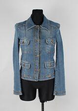 Dolce&Gabbana D&G Jeans Women Denim Jacket Size 28/42, Genuine