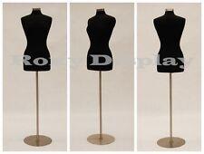 High Quality Size 6 8 Female Mannequin Manikin Dress Form F68bk Bs 04