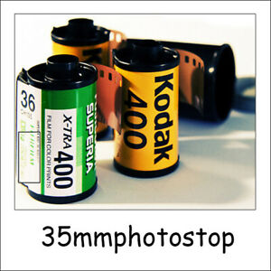 "Film Processing service 35mm - DEVELOP & PRINT  (6""x4"" Photos)"