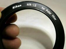 Nikon HN-12 Metal Lens Hood Shade for Nikon Polar PL Filter screw in type 52mm