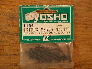 1136 RHST Screw (M3) 3mm - Kyosho Vintage Hardware
