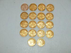 18 ~ 1998 PINNACLE MINT COLLECTION QB CLUB COINS ~ ALL DIFFERANT