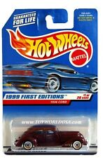 1999 Hot Wheels #649 First Editions #1 1936 Cord
