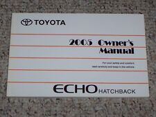 2005 Toyota Echo Hatchback Factory Original Owners Owner's User Manual Book