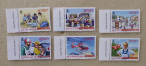 2013 JERSEY RED CROSS & RED CRESENT SET OF 6 MINT STAMPS DIANA ECT.
