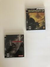 Metal Gear Solid 4: Guns of the Patriots And Resistance 2 for PlayStation 3