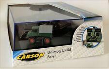 Carson 500504126 - 1:87 MB Unimog U406 Forst 2.4G 100% RTR #NEU in OVP#