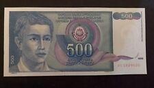Yougoslavie 500 Dinara 1990 UNC