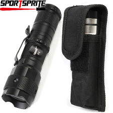 Hugsby P2 CREE Q5 LED 3 Mode 700 Lumens Hunting Tactical Flashlight With Holster