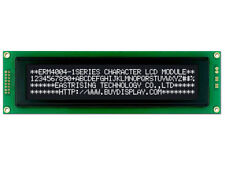5V Black 40x4 Character LCD Module Display w/Tutorial,HD44780,Bezel,Backlight