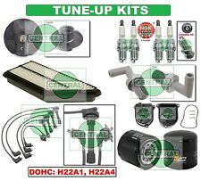 TUNE UP KITS 93-01 HONDA PRELUDE: SPARK PLUGS WIRE SET DIST. CAP ROTOR & FILTERS
