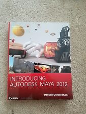 Introducing Autodesk Maya 2012 by Dariush Derakhshani (2011, Paperback)