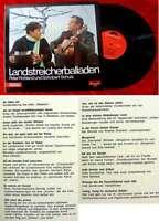 LP Peter Rohland Schobert Schulz Landstreicherballaden (Polydor) D