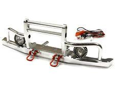 Integy Alum V2 Billet Machined Front Bumper w/ LED for Axial SCX10 Dingo/Honcho