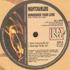 Nightcrawlers ‎– Surrender Your Love Flying International ‎– FIN 154 Italy 1995