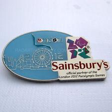 2012 London Summer Paralympic Sainsbury's Pin