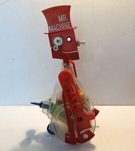 """Vintage 1970s Ideal  Mr. Machine Wind Up 18"""" Toy Robot"""