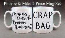 Friends TV Show Phoebe & Mike Mug Set Present Gift Anniversary Wedding