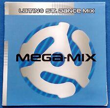 Latino St. Dance Mega Mix CD Promo 2 Versions Paulina Rubio Enrique Iglesias