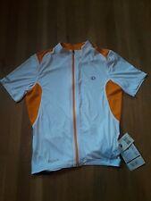 pearl izumi elite jersey Men's Medium white orange cycling new nwt
