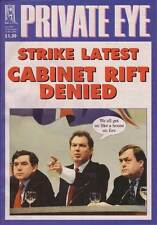PRIVATE EYE 1068 - 29 Nov -12 Dec 2002 - Brown Blair Prescott - STRIKE LATEST