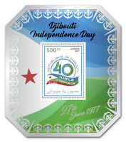 Djibouti 2017 MNH Independence Day 1v S/S Flags National Emblems Stamps