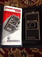 OMNITRONICS PERSONAL SECURITY ALARM New In Box Tested