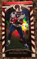 2020 PANINI LEGACY DEVIIN SINGLETARY MINI RED PARALLEL CARD #5 SN 22/75 BUFFALO