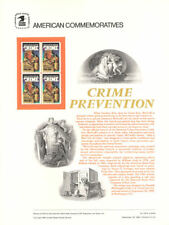 #229 20c Take a Bit Out of Crime #2102 USPS Commemorative Stamp Panel