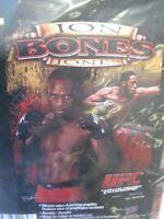 "UFC Jon Bones Jones Vertical Banner Flag 27"" X 37"" Promotion Man Cave Decor"