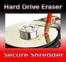Erase wipe format delete hard drive Eraser CD PC & laptop computer Any Windows