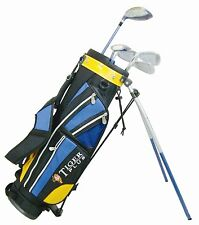 Set bastoni Golf + sacca per mancini Longridge Tiger Plus Graphite Junior 8-11