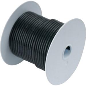 Ancor Wire, 25' #2/0 Tinned Copper, Black, MFG# 117002.
