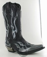 new rock 7921-s3 Cowboystiefel Westernstiefel santiag boot biker size 38 NEW