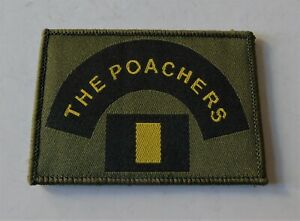 British Army Royal Anglian 2nd Battalion/Poachers Morale ID Patch/Badge - New