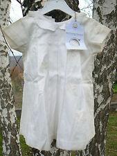 NUOVO Petit Bateau vestitino bianco 6mesi