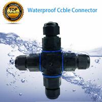 4 Wege Verteilerbox IP68 Wasserdicht Kabelsteckverbinder Außen Anschlussdose