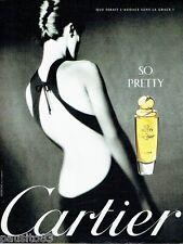 PUBLICITE ADVERTISING  116  1997   Cartier  parfum  So Pretty