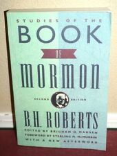 Studies of the Book of Mormon by B.H. Roberts 1992 LDS Mormon PB