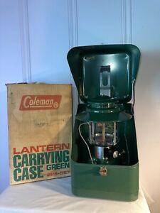Vintage 1973 Coleman Model 228-567H Double Hat Lantern In Box NOS