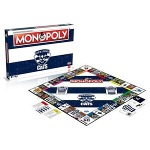 Geelong Cats AFL Monopoly Board Game