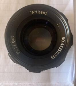 7artisans 35mm f1.2 lens lens Camera Lens 35 Mm Open Box