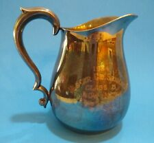 Vintage silverplate Classical style pitcher by Reed & Barton Silver Co. #969