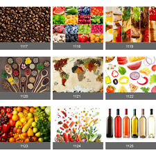 Food Art Wall Mural Photo Wallpaper Picture 'Peel & Stick' Kitchen Dining Room